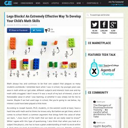 Lego Blocks! An Extremely Effective Way To Develop Your Child's Math Skills