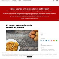 El origen extremeño de la tortilla de patatas