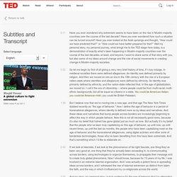 Maajid Nawaz: A global culture to fight extremism