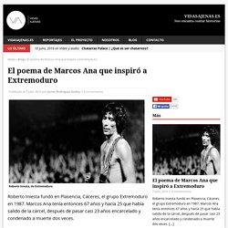 El poema de Marcos Ana que inspiró a Extremoduro - vidasajenas.es