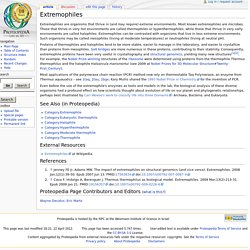 Extremophiles - Proteopedia, life in 3D