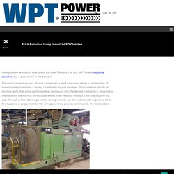 Brick Extrusion Using Industrial PO Clutches - WPT Power Corp.