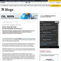 Exxon, Shell, BP, Total : les rois du pétrole sont-ils nus