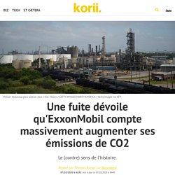 Une fuite dévoile qu'ExxonMobil compte massivement augmenter ses émissions de CO2