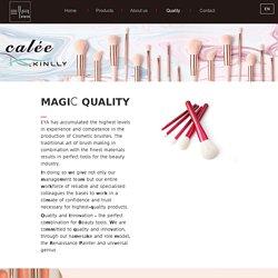 MAGIC QUALITY - EYA Cosmetics Co., ltd