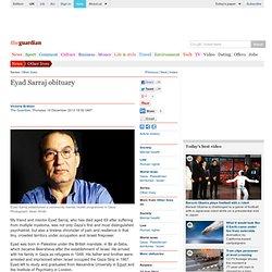 Eyad Sarraj obituary