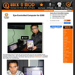 Eye-Controlled Computer for $300