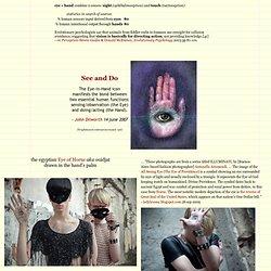 the Eye in Hand / el Ojo en la Mano