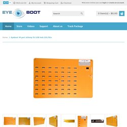 Eyeboot 49 port 60Amp 5V USB Hub 220/110v
