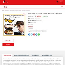 Buy Night HD Vision Driving Anti Glare Eyeglasses Online at Mart24Online