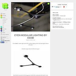 Eyen Modular Lighting by Asobi