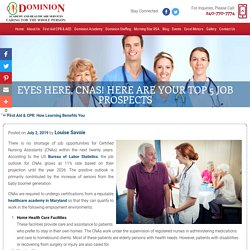 Eyes Here, CNAs! Here are Your Top 5 Job Prospects