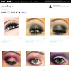 eyes make up 2 - Polyvore - StumbleUpon