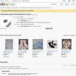 EYES Metallic glitter SD dollfie bjd doll 8~24mm