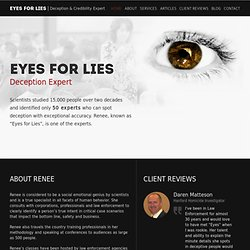 Eyes for Lies Blog: Microexpressions -- Test Yourself