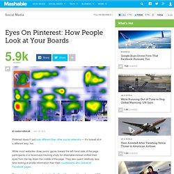 Eyes On Pinterest: How People Look at Your Boards - Aurora