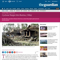 Eyewitness 2008: Cyclone Nargis hits Burma, 2 May