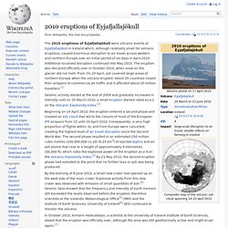 2010 eruptions of Eyjafjallajökull - Wikipedia, the free encyclo