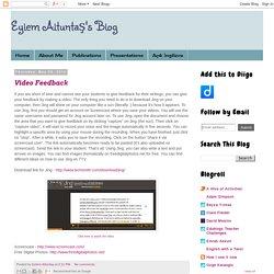 Eylem Altuntaş's Blog