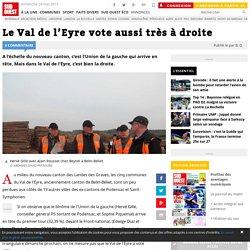 Le Val de l'Eyre vote aussi très à droite