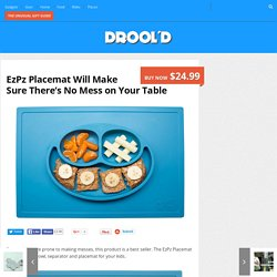 EzPz Placemat Will Make Sure There's No Mess on Your Table