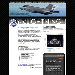 F-35 Lightning II Program