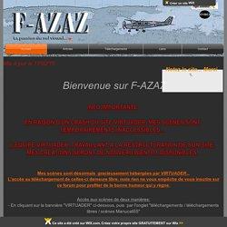 F-AZAZ La Passion du Vol Virtuel