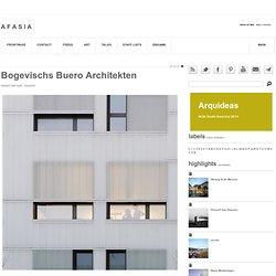 bogevischs buero architekten