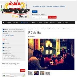 F Cafe Bar