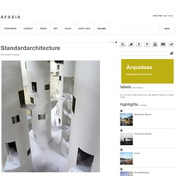 Standardarchitecture - tree towers housing