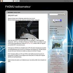 [ISS] SSTV actif.