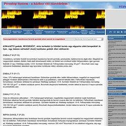 Faanyagvédelem: bazidiumos farontó gombák elleni szerek és megoldások:Tűzvédelem! Tűzvédelmi Centrum.Tűzvédelem.