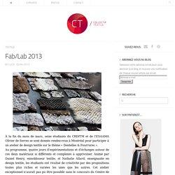 Fab/Lab 2013