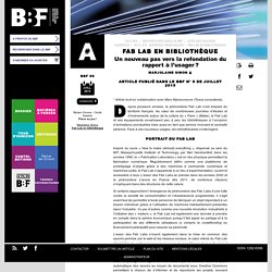 Fab Lab en bibliothèque
