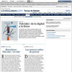 'Fab labs': de lo digital a lo físico