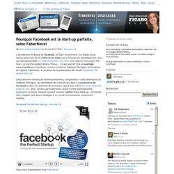 Pourquoi Facebook est la start-up parfaite, selon FaberNovel