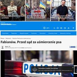 6 VII: Fabianów. Przed sąd za uśmiercenie psa - Pleszew - NaszeMiasto.pl