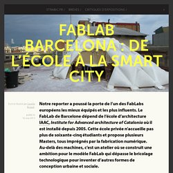 FabLab Barcelona : de l'école à la smart city -