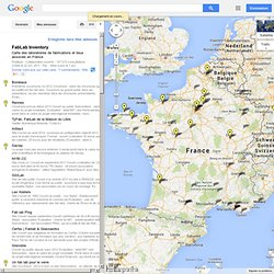 FABLAB FRANCE - Google Maps - Nightly