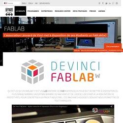 FabLab - Pôle Universitaire Léonard de Vinci