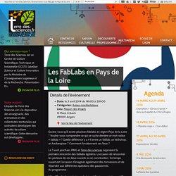 Les FabLabs en Pays de la Loire