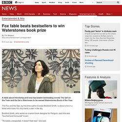 Fox fable beats bestsellers to win Waterstones book prize