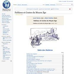 Fabliaux et Contes du Moyen Âge