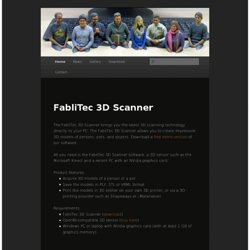 FabliTec | 3D Scanning Technology
