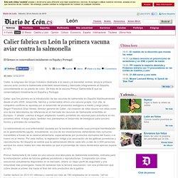 DIARIODELON 12/02/15 Calier fabrica en León la primera vacuna aviar contralasalmonella