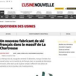 Un nouveau fabricant de ski français dans le massif de La Chartreuse - Loisirs
