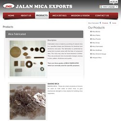 Mica Fabricated Suppliers