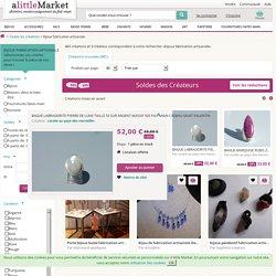 Créations bijoux fabrication artisanale sur A Little Market