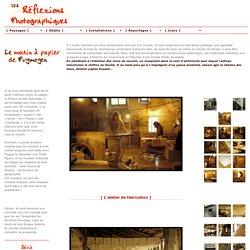 Moulin du Verger de Puymoyen en Charente, fabrication artisanale du papier