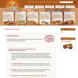 Fabrication biologique de pain au levain naturel